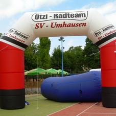 Inflatable arch Otzi