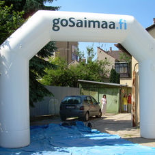 Inflatable arch goSaimma