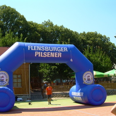 Inflatable arch Flensburger