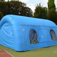 Inflatable tent Gold ski