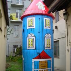 Inflatable house Mumitalo