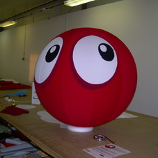 Inflatable sphere Nokia