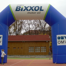 Inflatable arch OMV