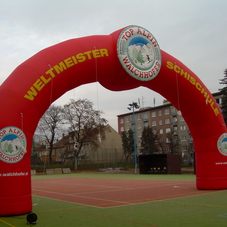 Inflatable arch Walchhofer