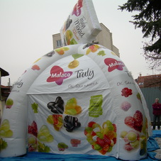 Inflatable tent Malaco