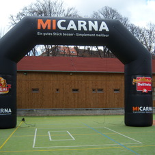 Inflatable arch Micarna