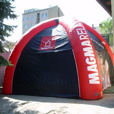 Inflatable tent Izolace Polná