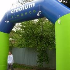 Inflatable arch Credium