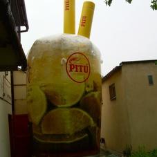 Inflatable glass Pitu