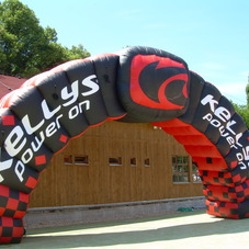 Inflatable arch Kellys_2
