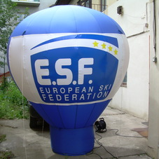Inflatable balloon ESF