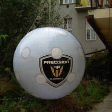 Inflatable ball Precision
