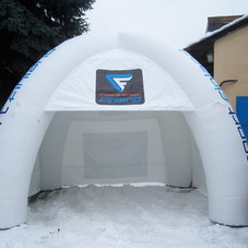Inflatable tent Ski sport Finland