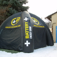 Inflatable tent Battery_2
