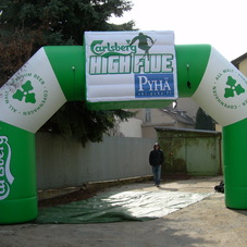 Inflatable arch Carlsberg