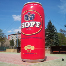 Inflatable can KOFF