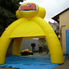 Inflatable tent ST1