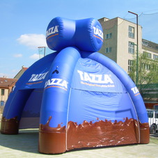 Inflatable tent Tazza