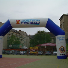 Inflatable arch Suomen
