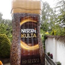 Digital printing Nescafé