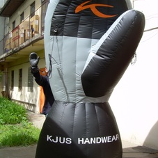 Inflatable glove Kjus