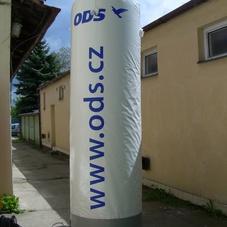 Inflatable cylinder ODS