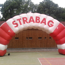 Inflatable Arch Strabag