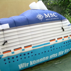 Inflatable boat MSC