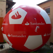 Inflatable sphere Santander
