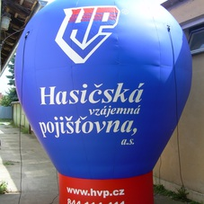 Inflatable sphere HVP