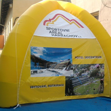 Inflatable tent Harachov