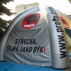 Inflatable tent Prefa