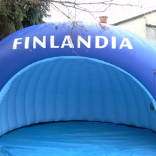 Inflatable tent Finlandia