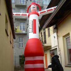 Inflatable mascot Kika