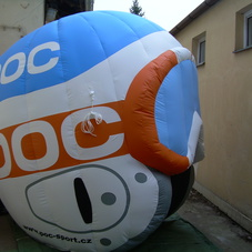 Inflatable helmet POC