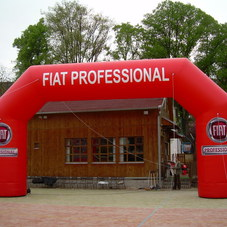 Inflatable arch Fiat