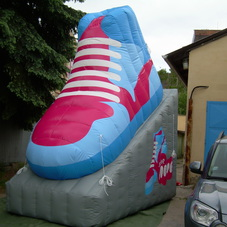 Inflatable shoe