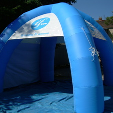 Inflatable tent IF