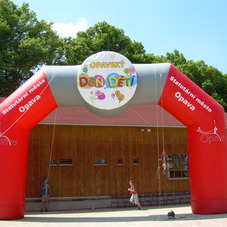 Inflatable arch Opava