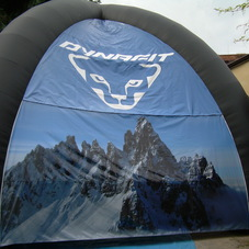 Inflatable tent Dynafit