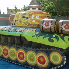 Inflatable tank Zlatopramen