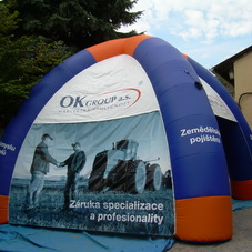 Inflatable tent OK Group