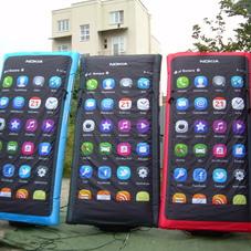 Inflatable phones Nokia