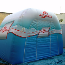 Inflatable tent Ski Austria