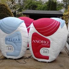 Inflatable inhalator Relvar