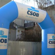 Inflatable Arch ČSOB