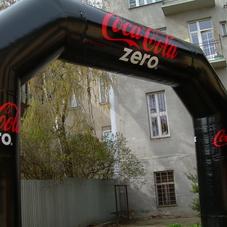 Inflatable Arch Coca Cola