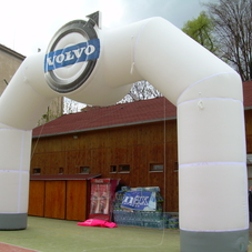 Inflatable Arch Volvo
