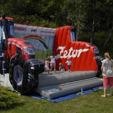 Bouncy castle tractor Zetor