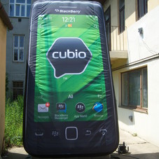 Inflatable cell phone BlackBerry